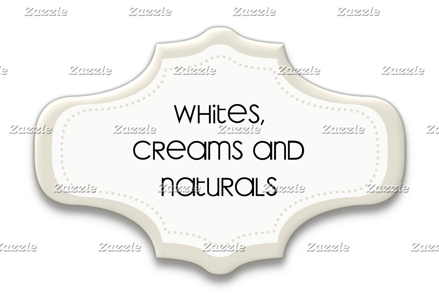 Whites, Creams and Naturals