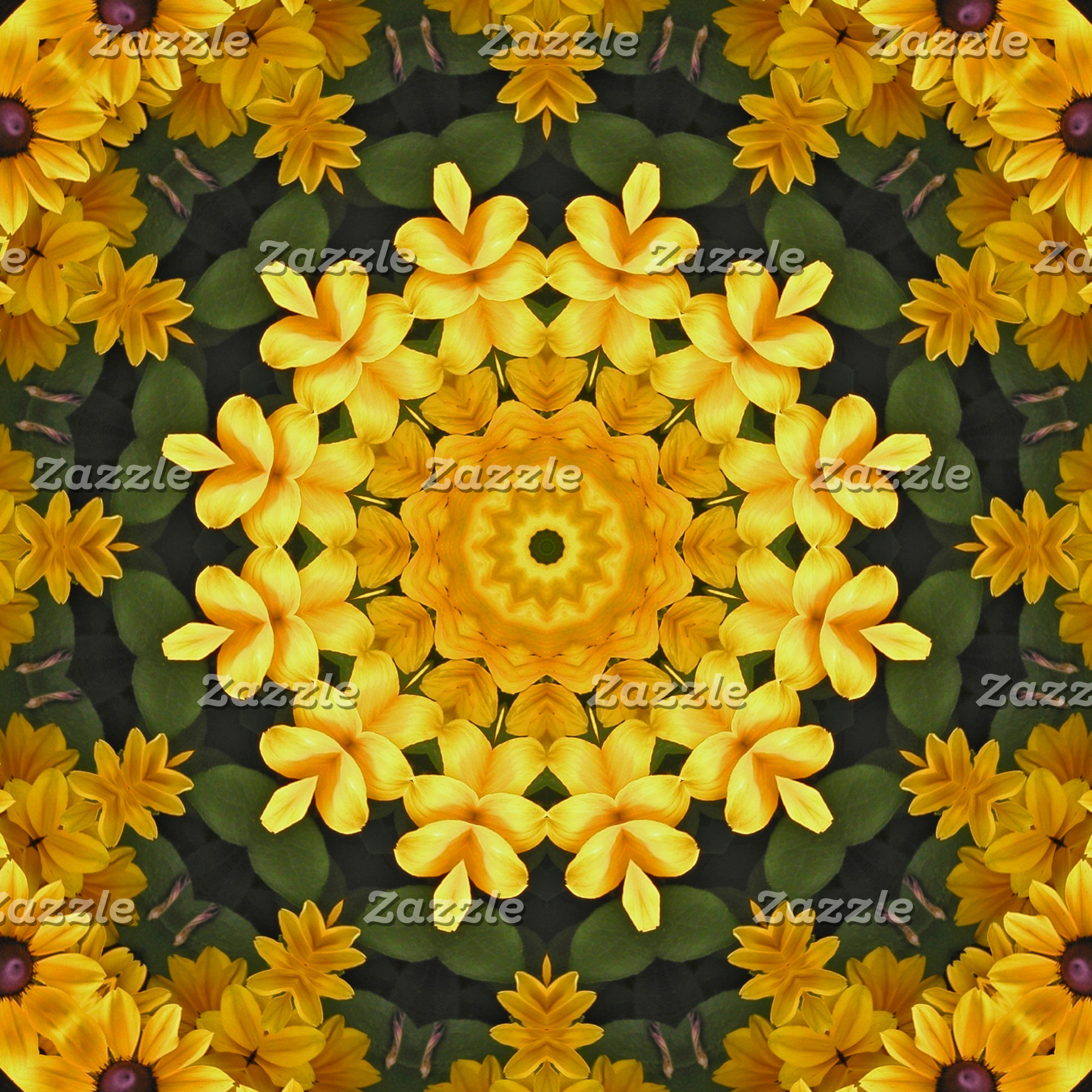 _Fall Flower Mandalas