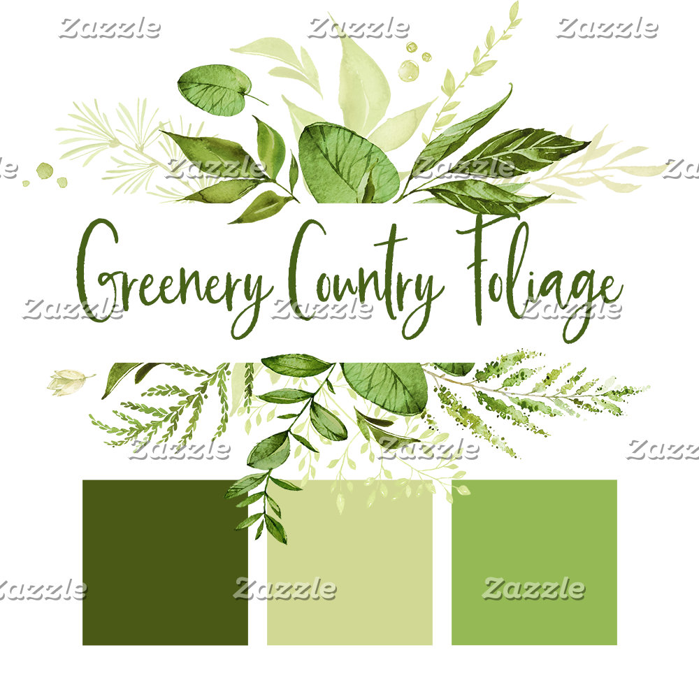 Greenery Country Foliage Wedding