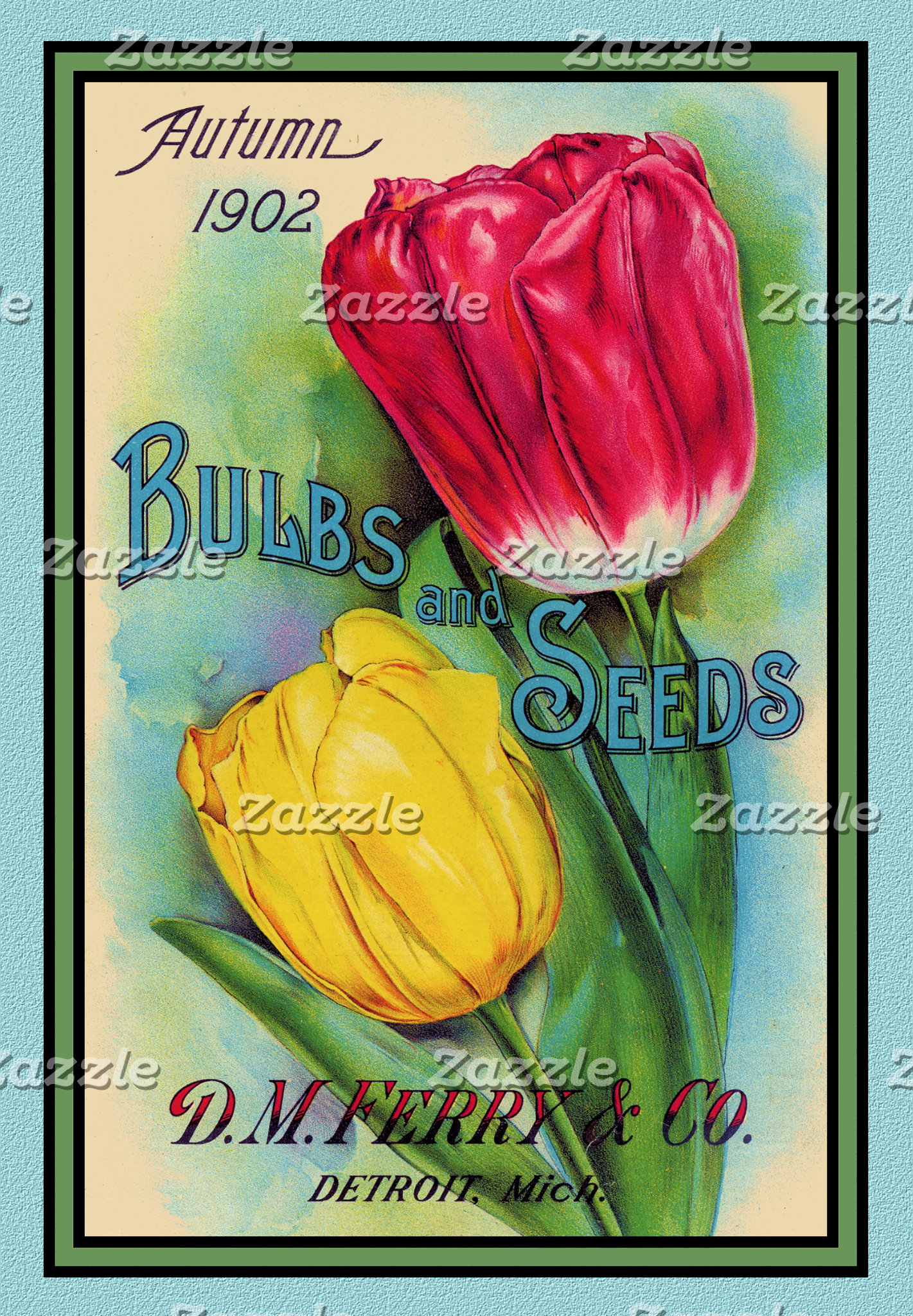 Vintage Flowers and Seed Packets