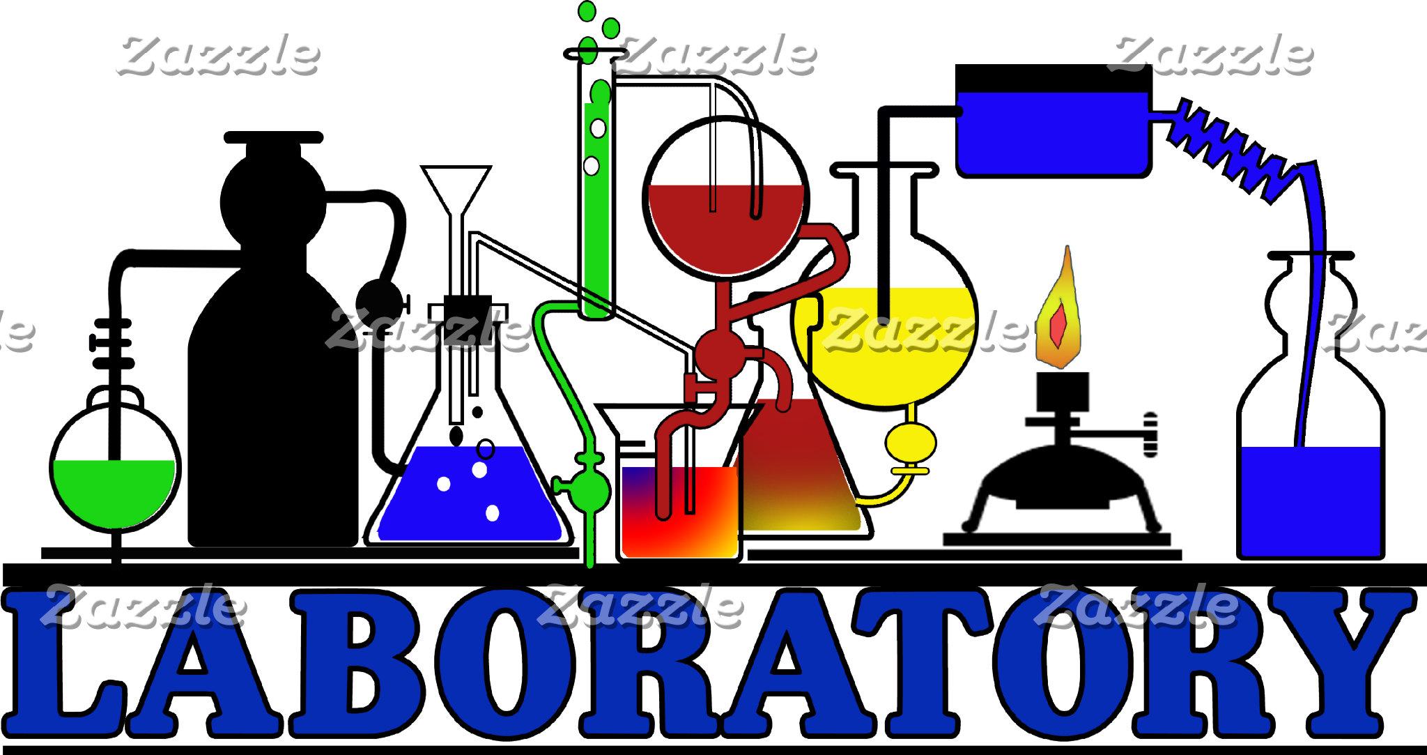 LAB WARE - LABORATORY GLASSWARE SETUP