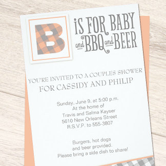 Baby, BBQ & Beer Baby Shower Suite