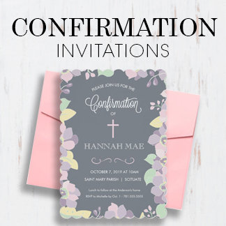 Confirmation Invitations