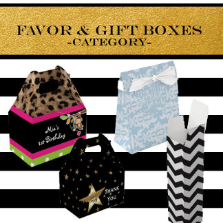 Favor and Gift Boxes
