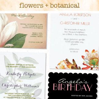 Flowers + Botanical