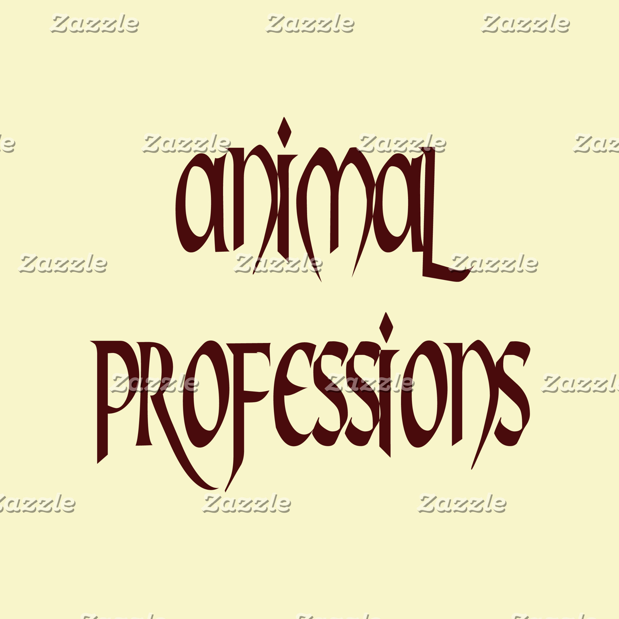 Animal Professions