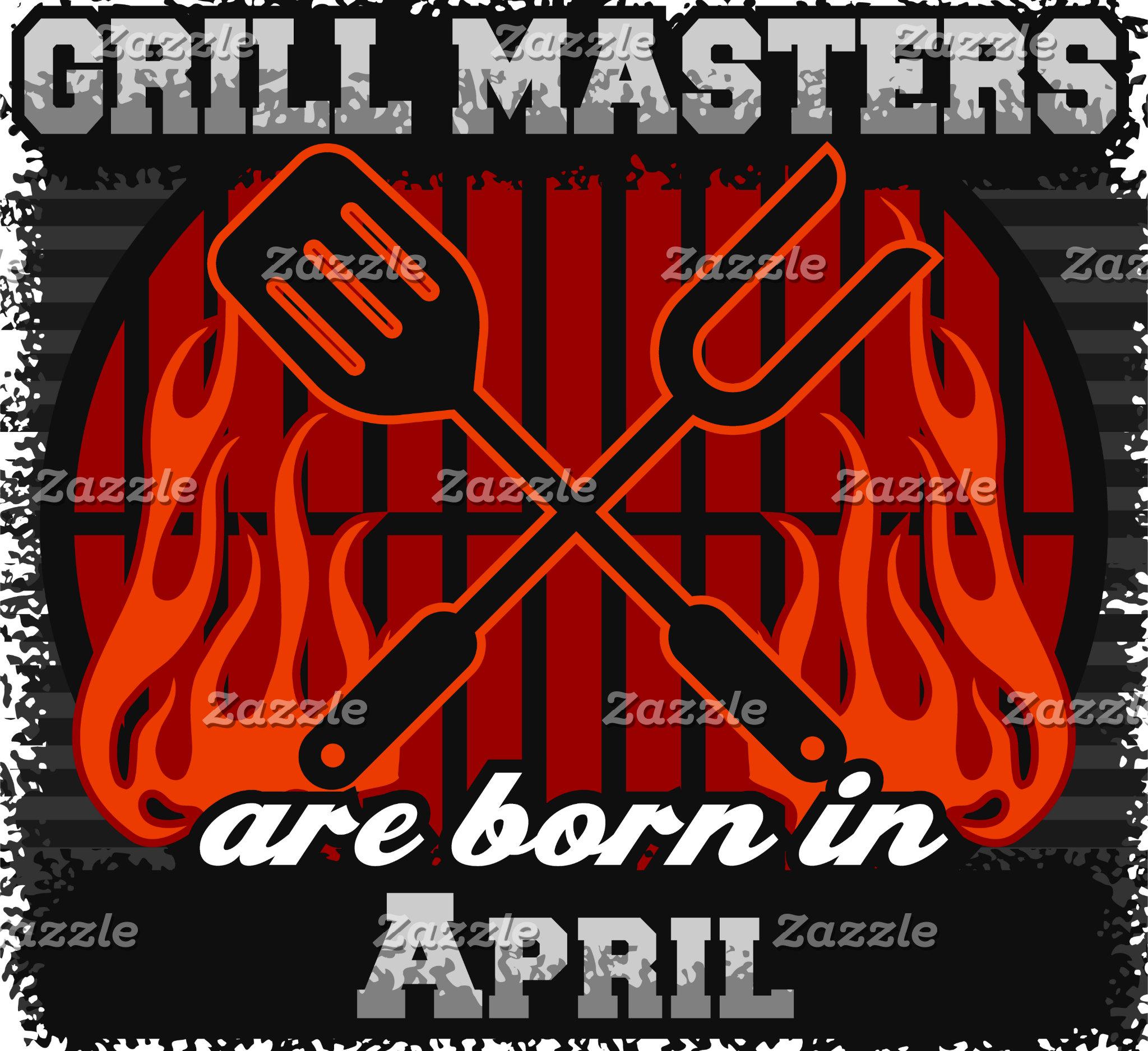 April - Grill Masters Are Born In