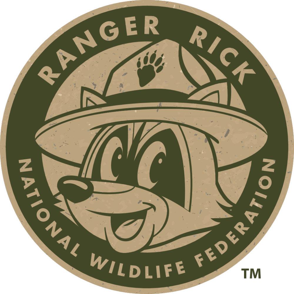 Ranger Rick Khaki Logo