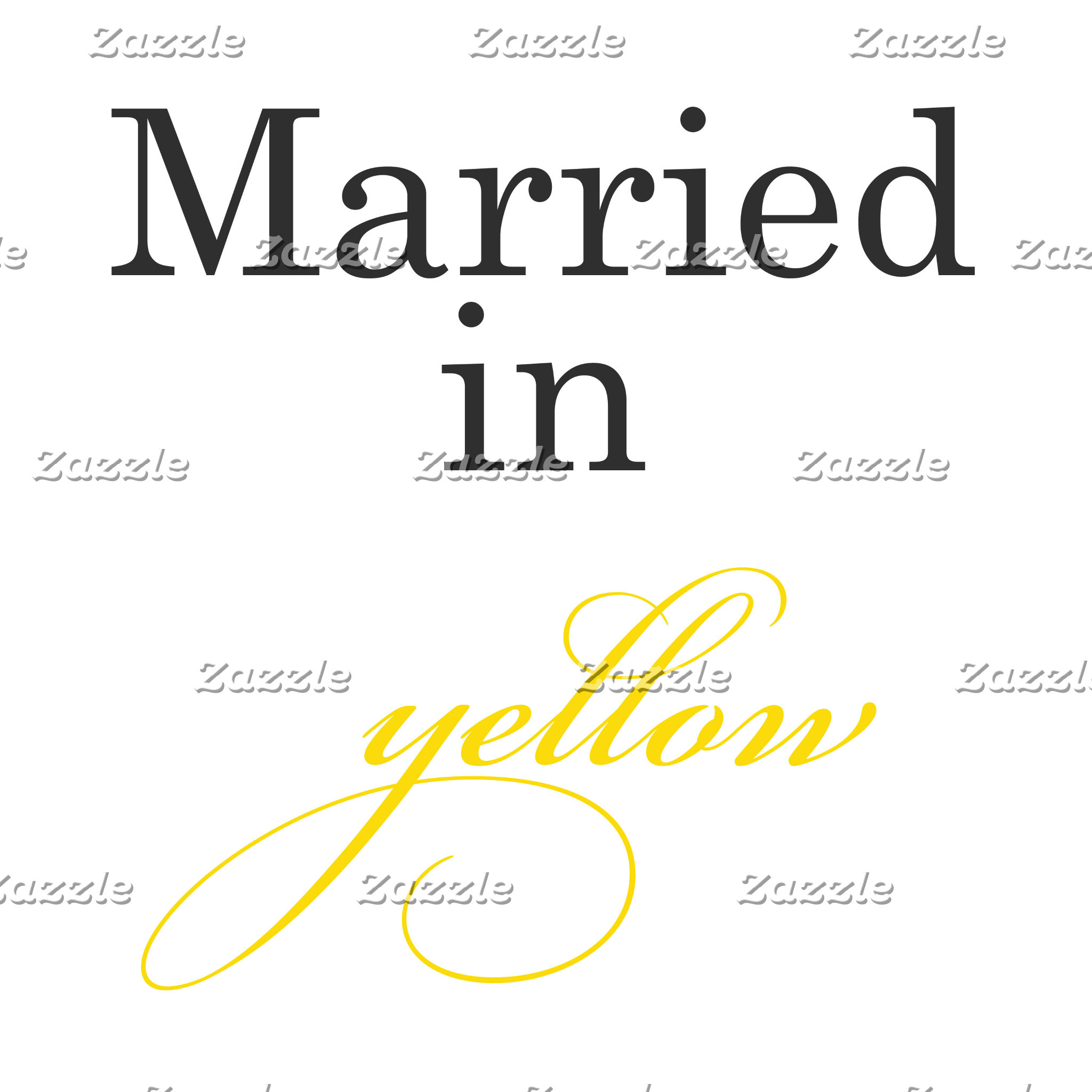 Married in Yellow