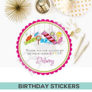 BIRTHDAY STICKERS