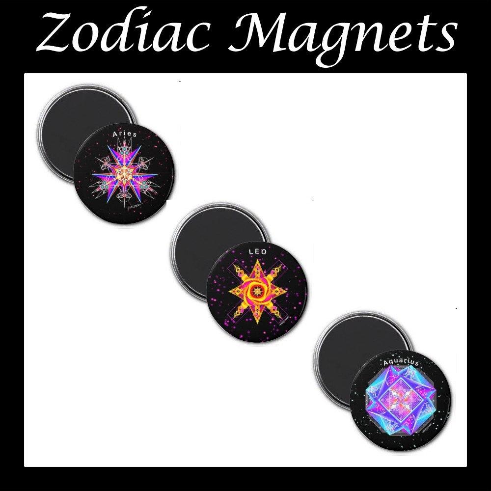 Zodiac Magnets