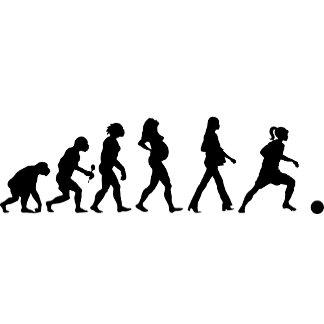 Woman Sports Evolution