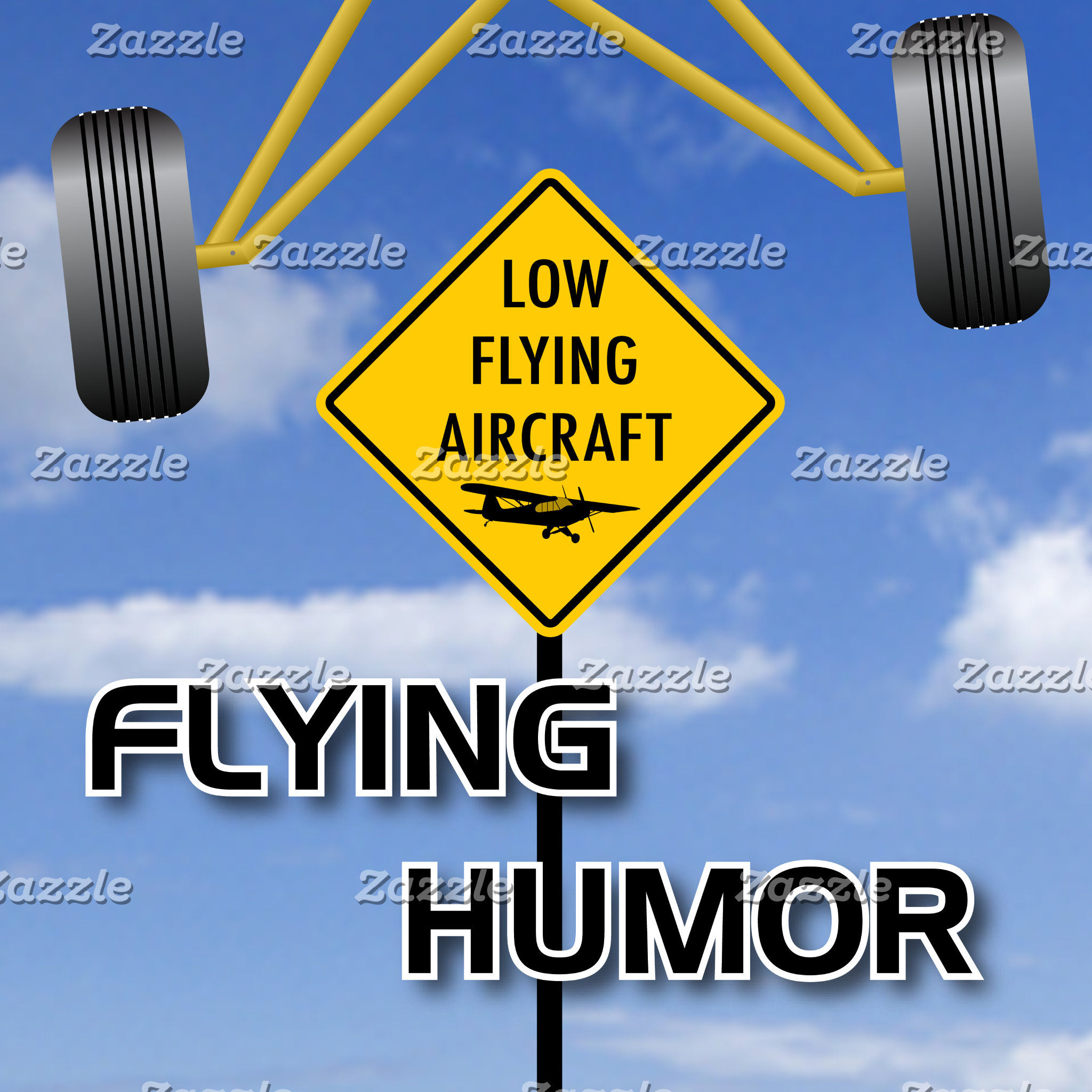 Flying Humor