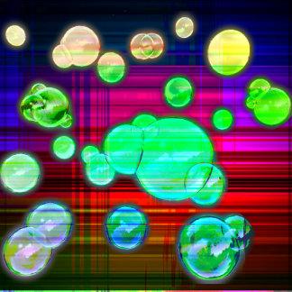 Plaid Bubbles