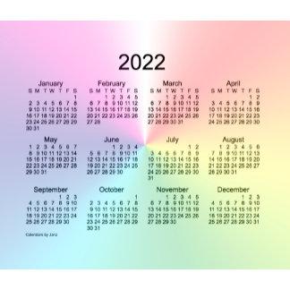 2022 Calendars by Janz
