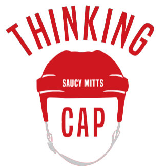 Hockey Helmet Thinking Cap