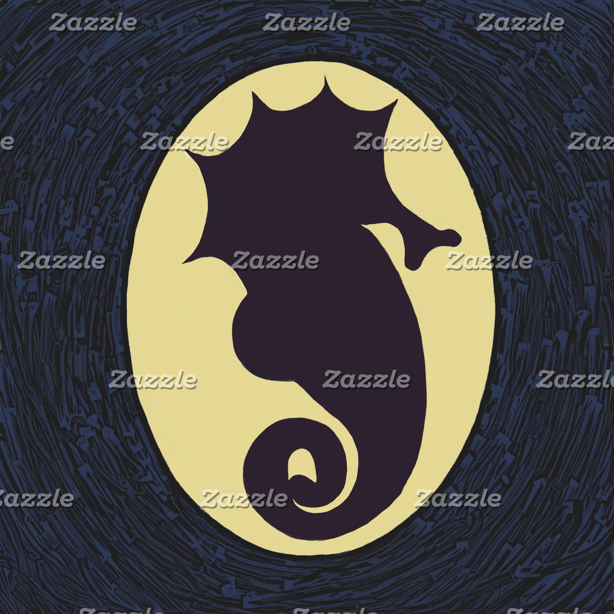Seahorse Cameo