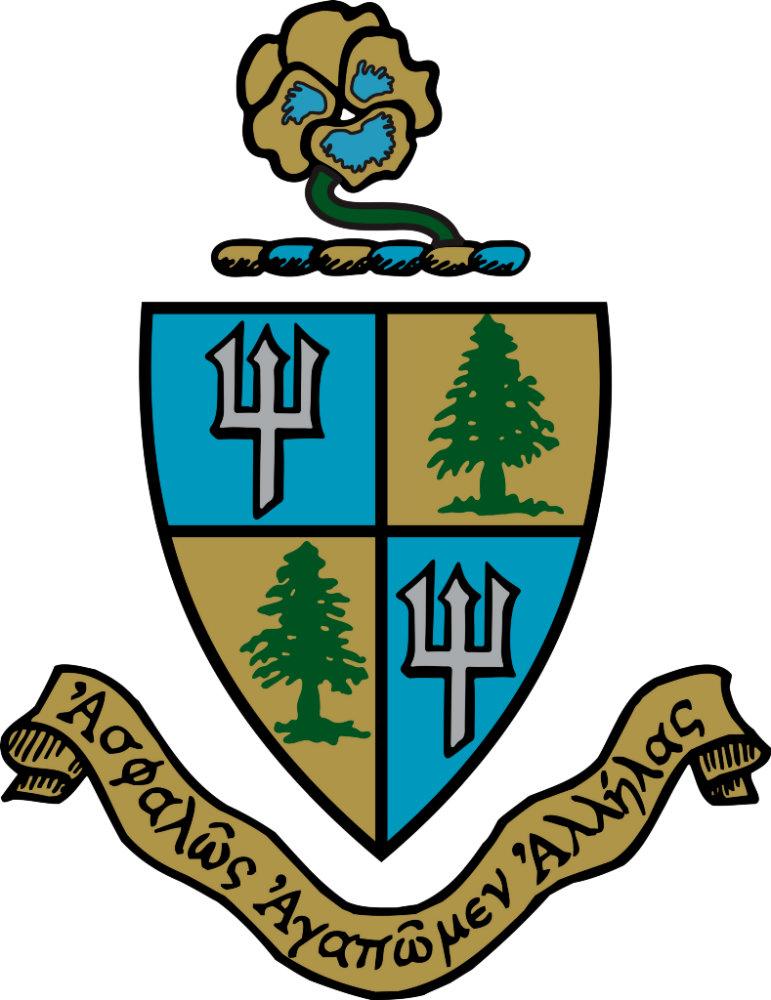 Delta Delta Delta Crest Color