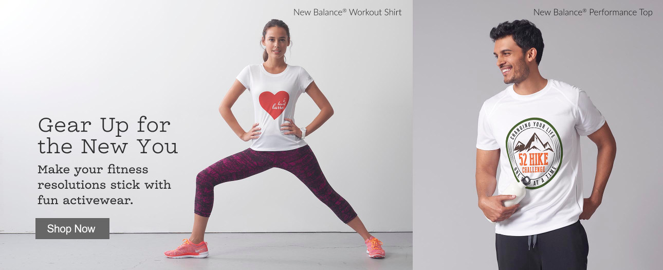 Gear Up for the New You - Make your fitness resolutions stick with fun activewear