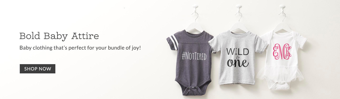 Bold Baby Attire - Baby clothing that's perfect for your bundle of joy!