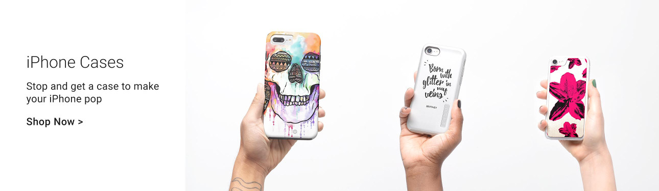 iPhone Cases - Stop and get a case to make your iPhone pop!