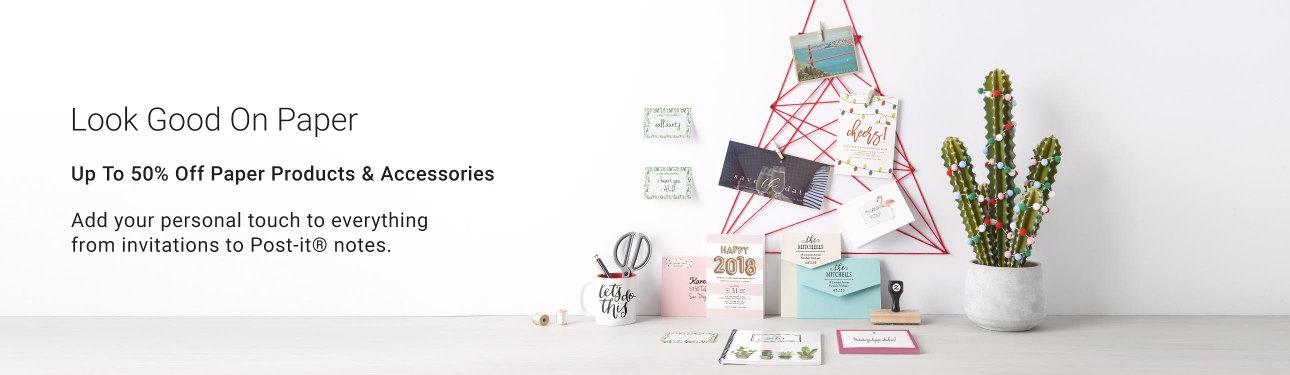 50% Off Paper Products