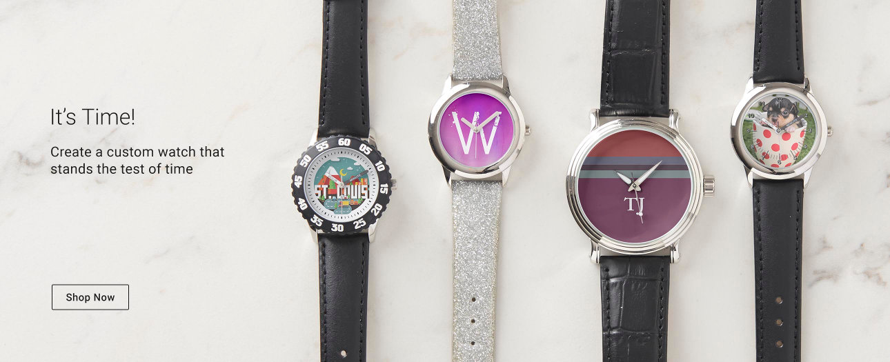It's Time! Create a custom watch that stands the test of time!