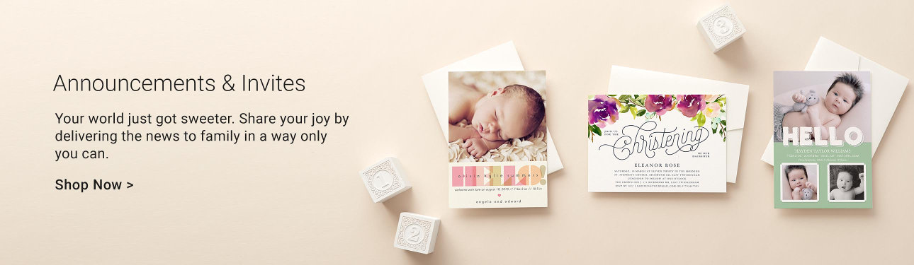 Baby Announcements And Invites