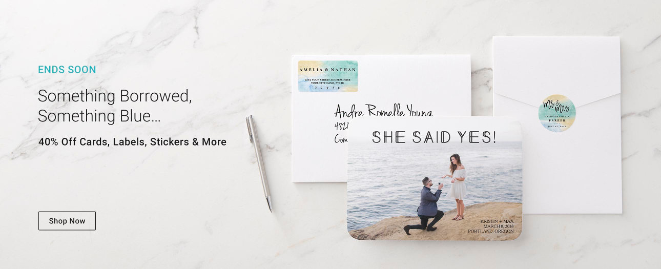 Personalised wedding invitations from Zazzle