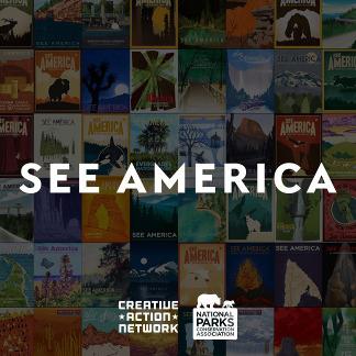 See America Illustrations