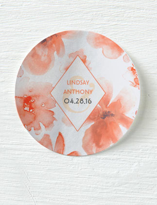 Watercolour Wedding Stickers