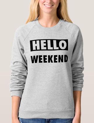 Cosy Weekend Sweatshirts