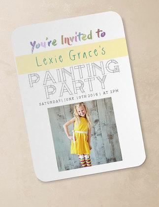 Customized Birthday Invitations