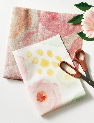 Browse through our incredible selection of Mother's Day gifts, such as this floral fabric.