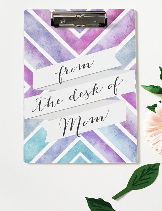 Browse through our incredible selection of Mother's Day gifts, such as these [descriptor] [product].Browse through our incredible selection of Mother's Day gifts, such as this watercolor clipboard.