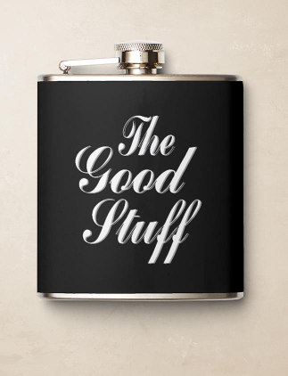 Typography Flasks