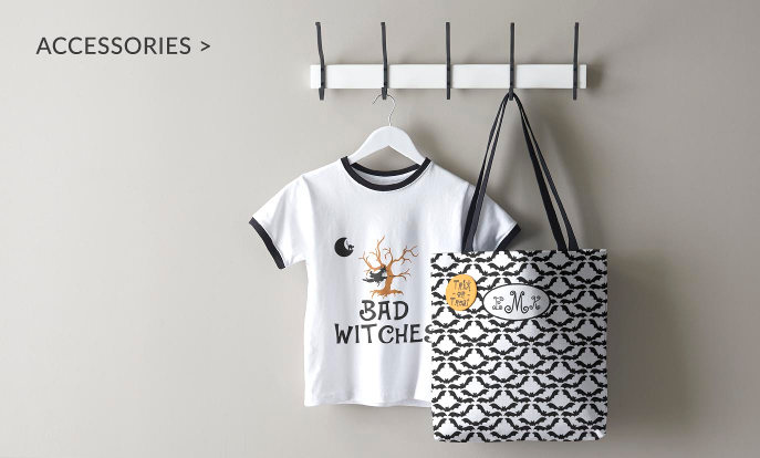 Halloween Accessories - T-Shirts & Tote Bags