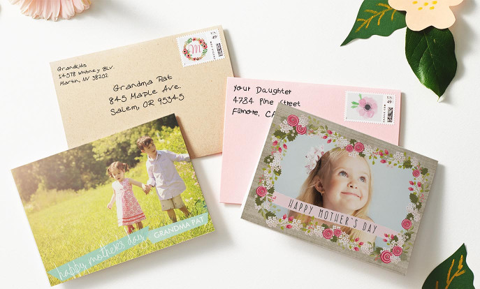 Browse through our beautiful selection of Mother's Day cards, such as these photo, funny, floral and vintage greeting cards.