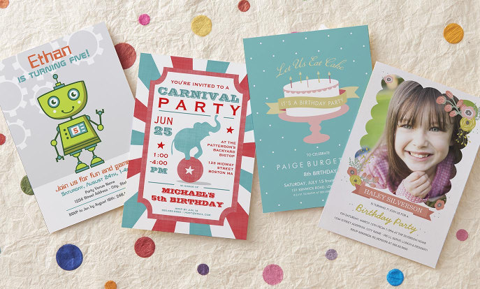 Browse Zazzle Kids Birthday Invitations and customise with your own text, photos or designs.