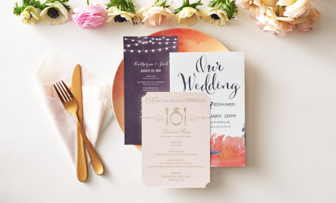 Browse our collection of wedding programs that you can customize!