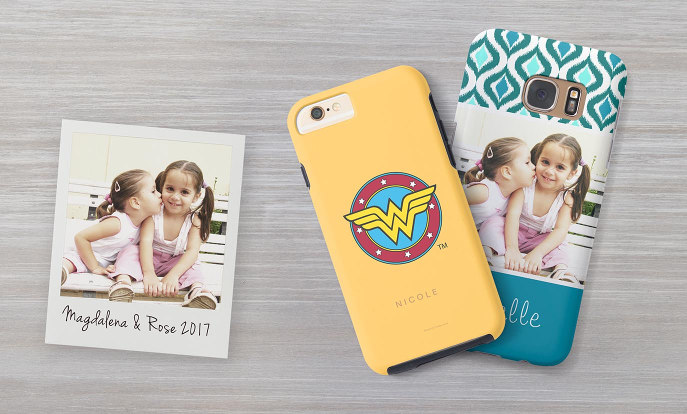 Personalise Smartphone cases at Zazzle