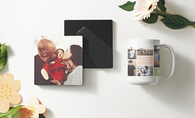 Browse through our incredible selection of Mother's Day gifts, such as these [descriptor] [product].Browse through our incredible selection of Mother's Day gifts, such as these photo plaque and mug.