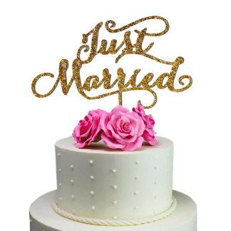 Sugar Yeti Made Wedding Cake Topper Just Maried