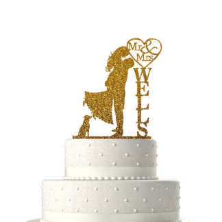 Personalized Cake Toppers for Wedding Decoration13