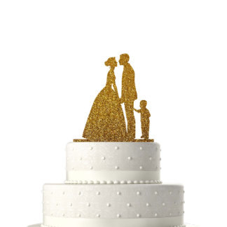 Sugar Yeti Wedding Cake Topper