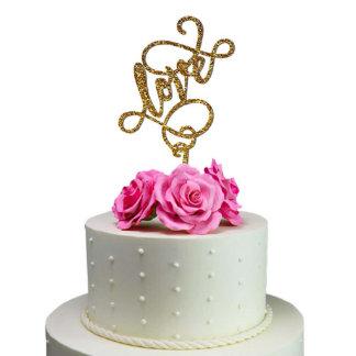 Love Wedding Cake Toppers Wedding Decoration