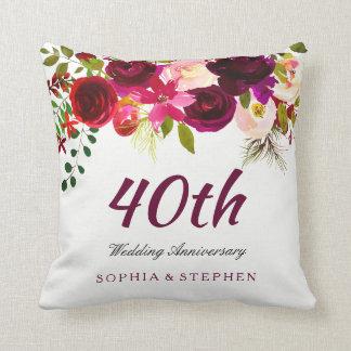 40th Wedding Anniversary Cushions 40th Wedding