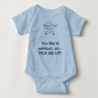 Weight Lifting Baby Clothes Weight Lifting Baby Clothing