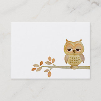 499 owl business cards and owl business card templates for Owl business cards