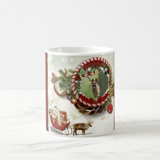 German Shepherd Christmas Coffee Mug